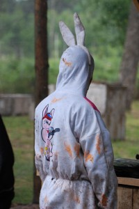 Aven'Thuré Paintball lapin enterrement vie de célibataire