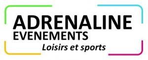 Logo adrénaline évènements cadre format image