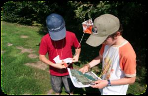 course orientation chasse aux trésors Aven'Thuré1